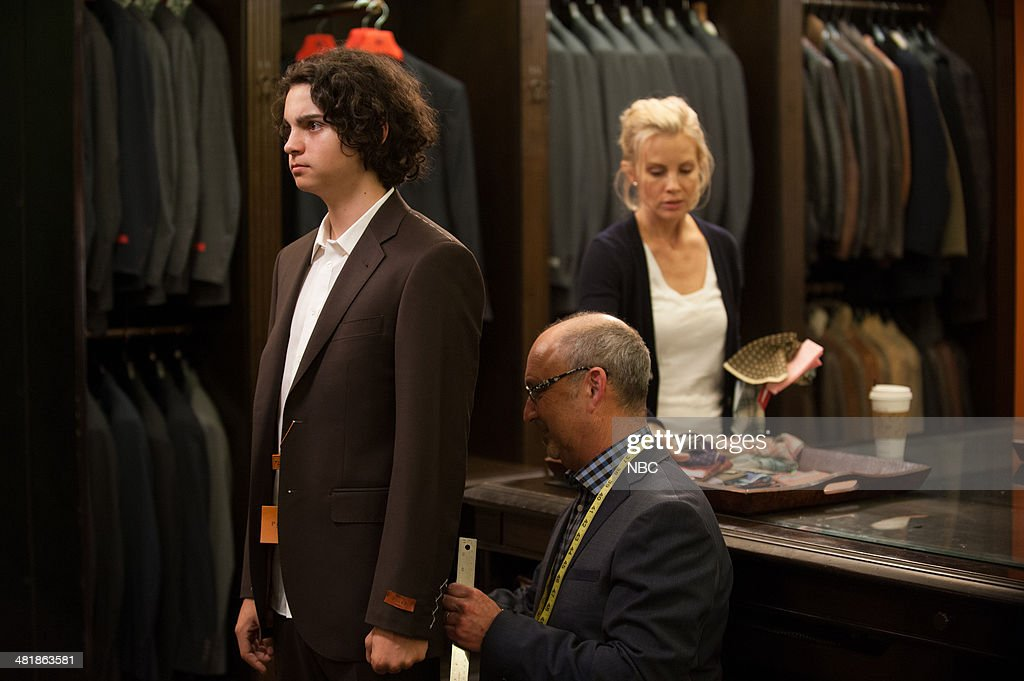 PARENTHOOD -- 'The Pontiac' Episode 522 -- Pictured: (l-r) Max Burkholder as Max Braverman, <a gi-track='captionPersonalityLinkClicked' href=/galleries/search?phrase=Monica+Potter&family=editorial&specificpeople=2086196 ng-click='$event.stopPropagation()'>Monica Potter</a> as Kristina Braverman --