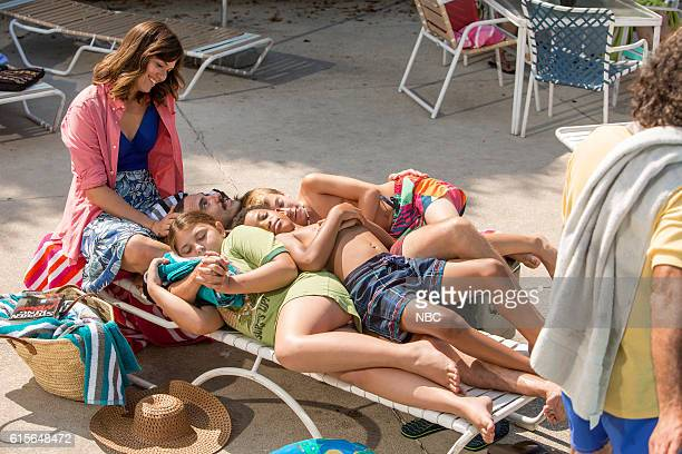 US 'The Pool' Episode 104 Pictured Mandy Moore as Rebecca Mackenzie Hancsicsak as 8 year old Kate Milo Ventimiglia as Jack Lonnie Chavis as 8 year...