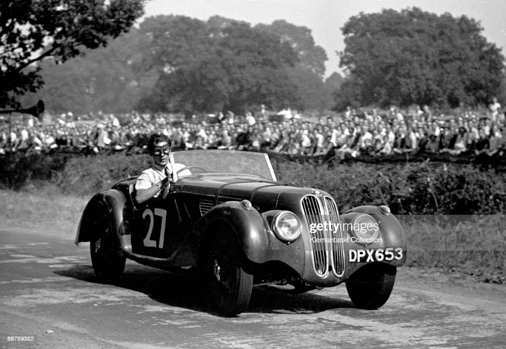 The Poole Speed Trials Lytchett Minster Septemer 6 1947 Here comes a very young Stirling Moss in one of his very first competitive events driving his...