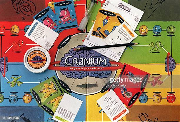 The popular new board game Cranium created by exMicrosoft executive Richard Taft combines the skills of games such as charades trivia word scrambles...