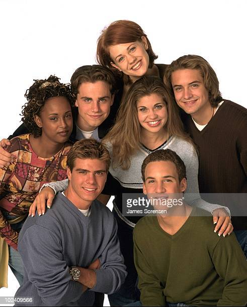 WORLD the popular TGIF comedy series airs on the ABC Television Network Pictured are Matthew Lawrence Ben Savage Trina McGeeDavis Rider Strong...