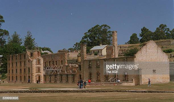 The Port Arthur prison built in the midnineteenth century Tasmania 11 August 2002 THE AGE Picture by LEIGH HENNINGHAM