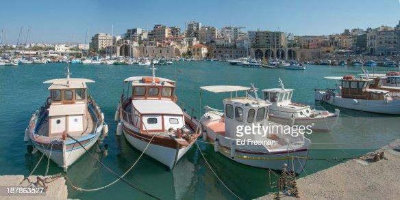 The Port at Heraklion, Crete