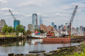 The port of Jersey City