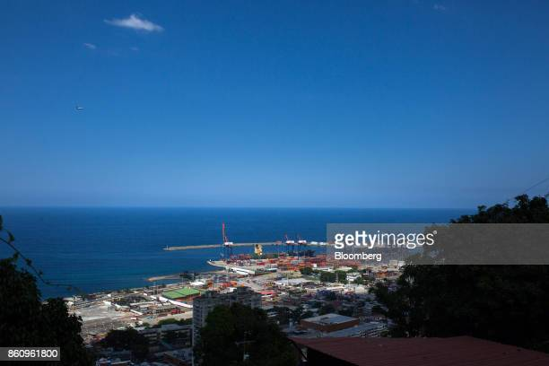 The Port of La Guaira is seen in La Guaira Venezuela on Friday Oct 6 2017 As Venezuela prepares to elect 23 governors on Sunday in elections stalled...