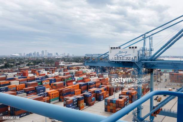 The Port of New Orleans in New Orleans Louisiana on June 27 2017