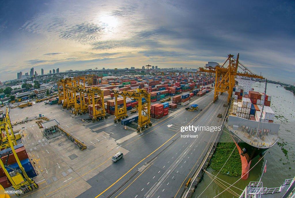 The port : Stock Photo