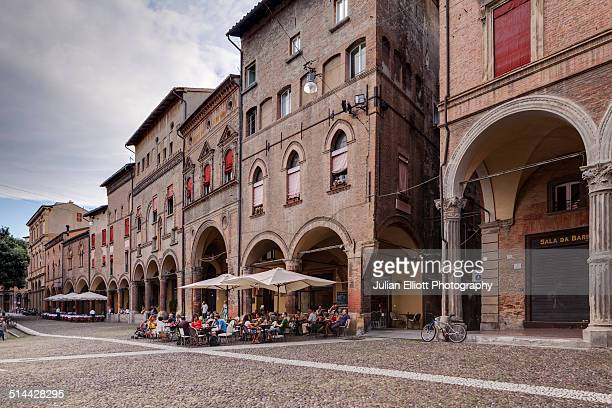 The porticoes of Piazza Santo Stefano, Bologna