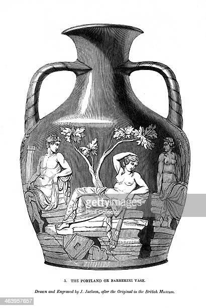 The Portland Or Barberini Vase 1843 Artist J Jackson Pictures