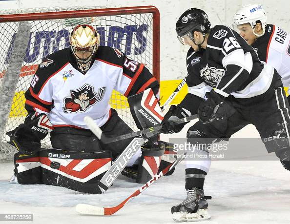 The Portland Pirates host the Manchester Monarchs at the Cross Insurance Arena in Portland