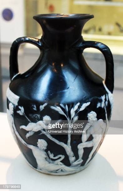 The Portland Vase Cameo Glass Probably Made In Rome Pictures
