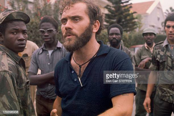 The Portuguese of FNLA after the battle in Luanda Angola in 1975 FNLA National Front for the Liberation of Angola