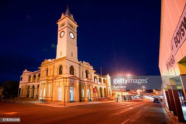The Post Office with clock tower imported from England added six years later in the well preserved heart of the city the One Square Mile Charters...