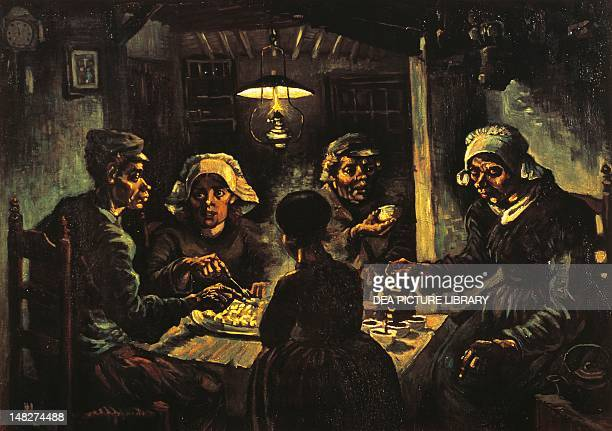 The potato eaters by Vincent van Gogh Amsterdam Van Gogh Museum