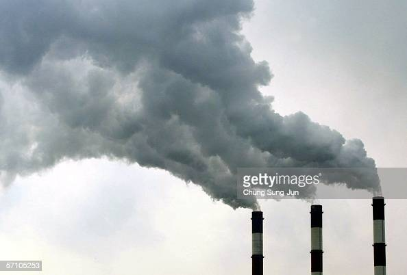 The power plant of SK Corporation oil refiner on March 16 2006 in Ulsan South Korea The SK Corporation is Asia's leading energy and petrochemical...