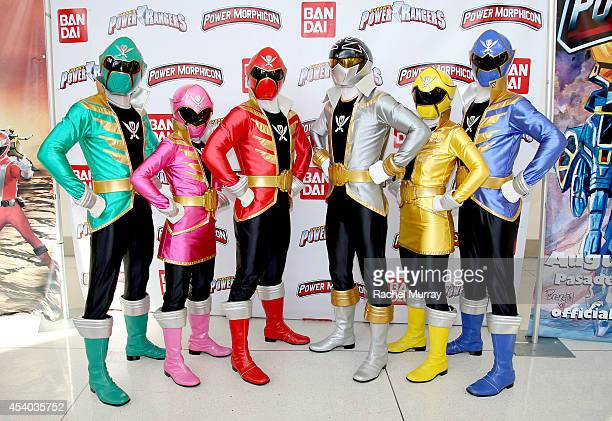 The Power Rangers Super Megaforce POWER UP the 4th biannual fanrun convention Power Morphicon today at the Pasadena Convention Center on August 23...