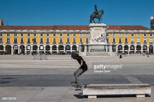 Commerce Square is located in the city of Lisbon Portugal Situated near the Tagus river the square is still commonly known as Terreiro do Paço...