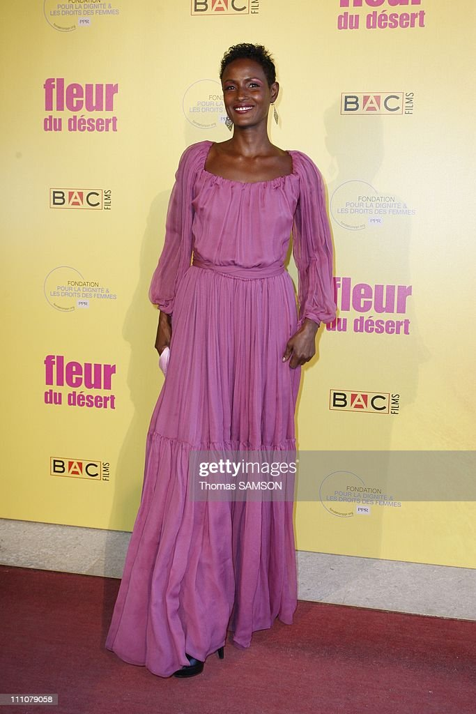 The premiere of 'Fleur du desert' at theatre Marigny in Paris, France on March 07th, 2010 - <a gi-track='captionPersonalityLinkClicked' href=/galleries/search?phrase=Waris+Dirie&family=editorial&specificpeople=2366489 ng-click='$event.stopPropagation()'>Waris Dirie</a>.