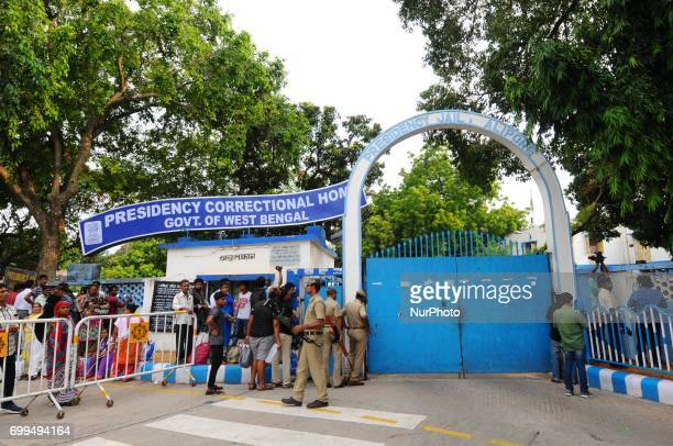 The Presidency jail where former Calcutta High Court judge CS Karnan brought back by CID team on June 21 2017 in Kolkata India He had been evading...