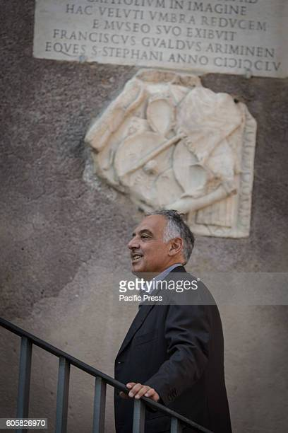 The President of AS Roma James Pallotta visit Rome to discuss the stadium issue in Campidoglio Palace