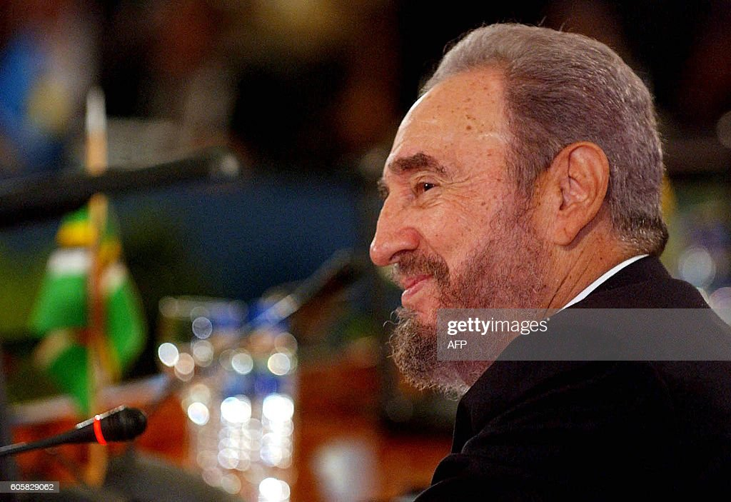 The President of Cuba, Fidel Castro, listens to Venezuelan President Hugo Chavez, during the opening of a Caribbean energy summit for the launch of Petrocaribe, in Puerto Ordaz, 220 km from Caracas, 29 June 2005. Petrocaribe, Chavez's new regional oil diplomacy vehicle, is just one initiative of Venezuela with a production quota of 3.1 million barrels a day - which has also proposed creation of Petrosur and Petroamerica, supranational oil groups to ensure regional supply self-sufficiency.