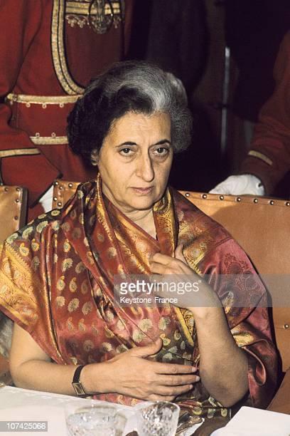 The President Of India Indira Gandhi In India