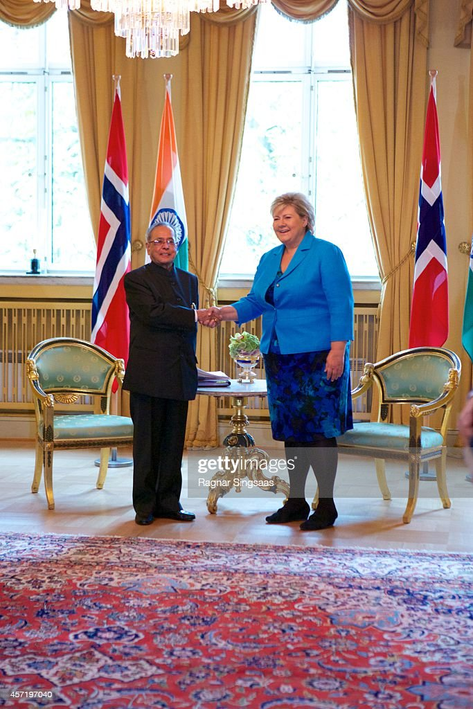 Norwegian Royals Receive President of India - Day 2
