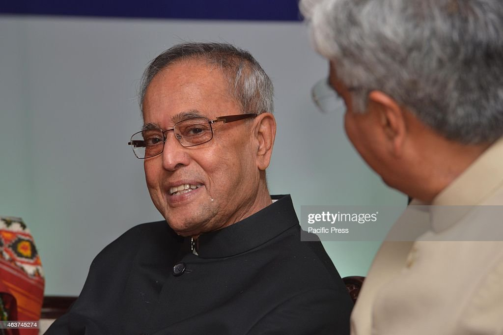 The President of India, Shri <a gi-track='captionPersonalityLinkClicked' href=/galleries/search?phrase=Pranab+Mukherjee&family=editorial&specificpeople=565924 ng-click='$event.stopPropagation()'>Pranab Mukherjee</a> attends 'At Home' on The Occasion of Delhi Police Raising Day at New Delhi.