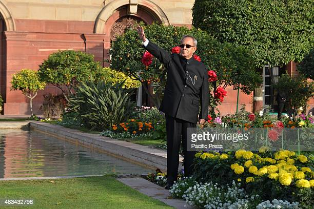 The President of India Shri Pranab Mukherjee graces the opening of Mughal Garden at Rashtrapati Bhavan