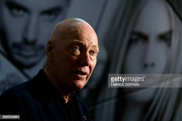 The President of LVMH Watch Division and TAG Heuer CEO JeanClaude Biver answers AFP journalists' questions during an interview on the press day on...