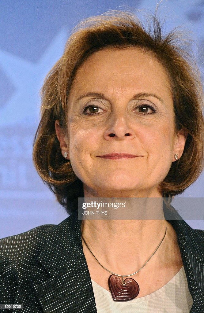 The president of the Europe Group of Coca-Cola Company <b>Dominique Reiniche</b> ... - the-president-of-the-europe-group-of-cocacola-company-dominique-on-picture-id85616735
