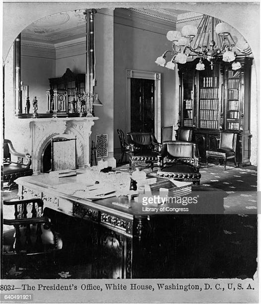 The Presidents Office White House 1898
