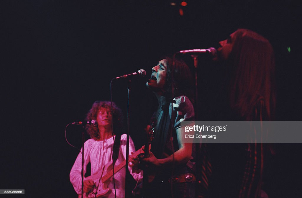 The Pretty Things performing on stage at Olympia West Kensington London 1975