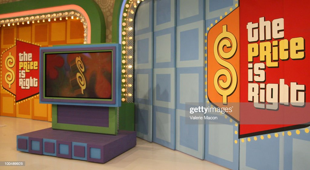 'The Price Is Right' Daytime Emmys-themed episode is taped at CBS Studios on May 24, 2010 in Los Angeles, California.