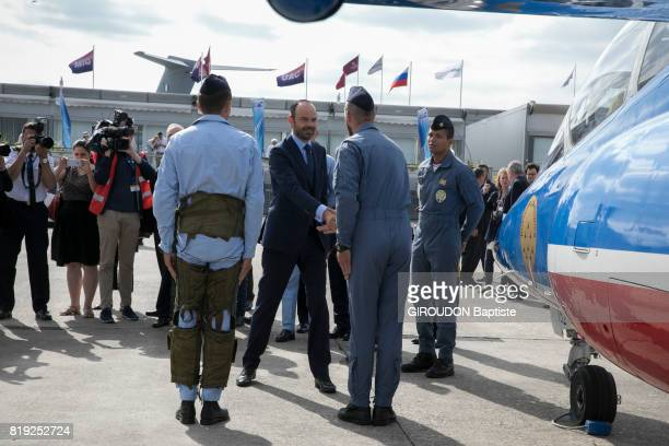 The Prime Minister Edouard Philippe at Salon du Bourges on june 23 2017 in Paris France
