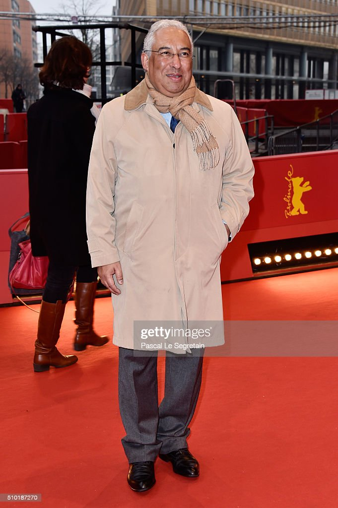 The prime minister of portugal Antonio Costa attends the 'Letters from War' (Cartas da guerra) premiere during the 66th Berlinale International Film Festival Berlin at Berlinale Palace on February 14, 2016 in Berlin, Germany.