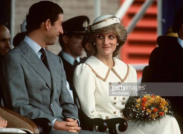 The Prince And Princess Of Wales In Canada