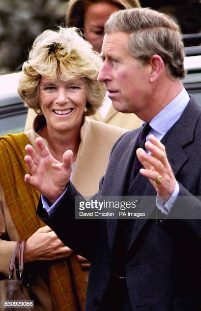 The Prince of Wales and Camilla Parker Bowles visit Canisbay Church in Caithness Charles drove the short distance from the Castle of Mey in Caithness...