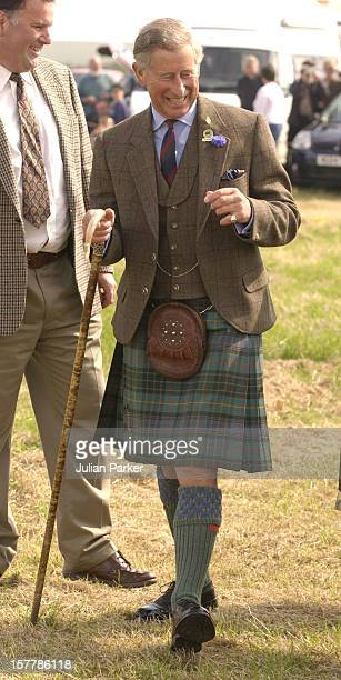 The Prince Of Wales And Camilla ParkerBowles Attend The Annual Mey Highland Games In Scotland