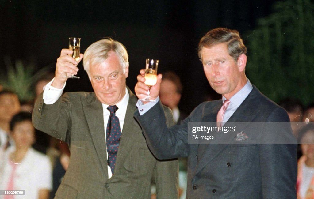 Image result for chris patten and hrh prince charles