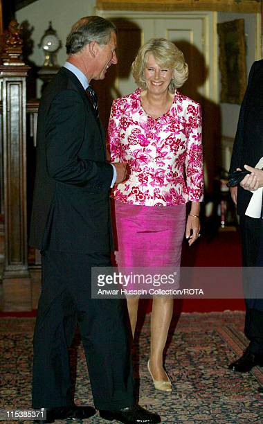 TRH The Prince of Wales and The Duchess of Cornwall hosted a reception for the Womens Institute's 'Calendar Girls'