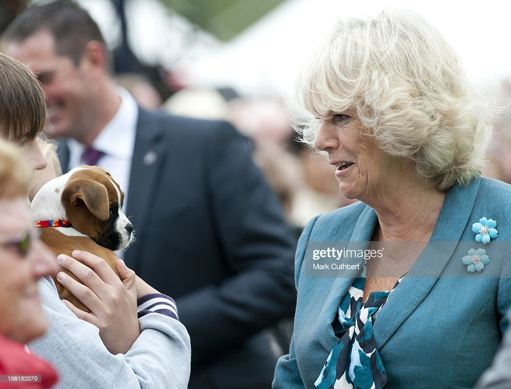The Prince Of Wales And The Duchess Of Cornwall Visit The 130Th Sandringham Flower Show, Norfolk.
