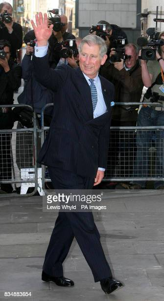 The Prince of Wales arrives at the Royal Opera House in London where he will later attend a classical concert organised by The Prince's Foundation...