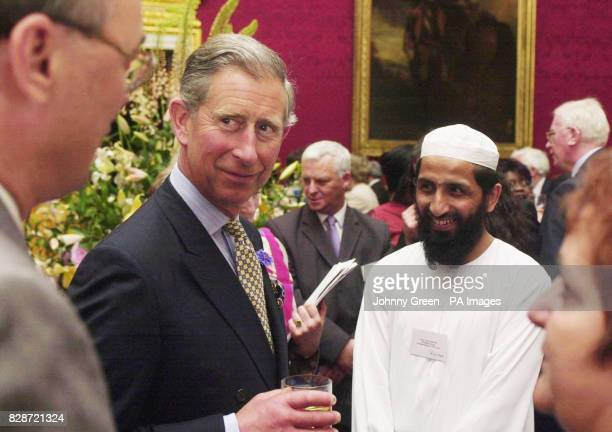 HRH The Prince of Wales attends the King's Fund Lecture where the Prince as President of the Fund delivered an introductory speech outlining the...