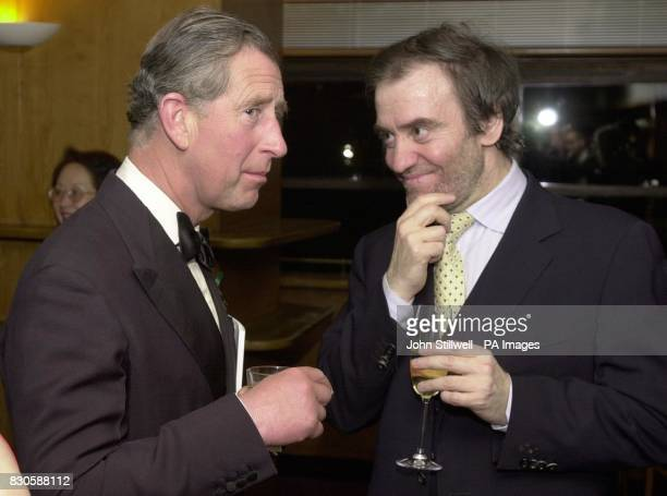 The Prince of Wales chats with Russian Conductor Valery Gergiev backstage at the Royal Festival Hall The Prince and the Conductor met after the 50th...