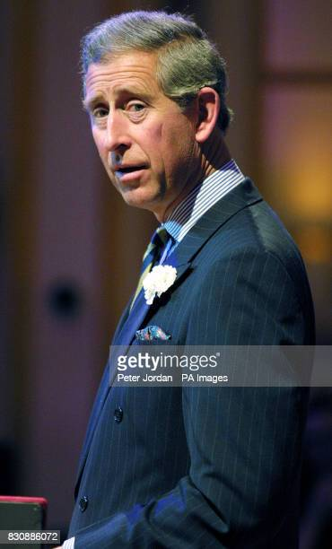 The Prince of Wales speaking during the launch at Buckingham Palace of 'Arts Kids' which encourages young people to engage with the arts The Prince...