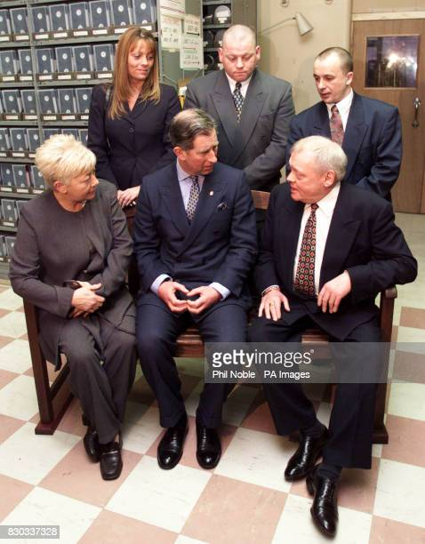 The Prince of Wales talks to members of the family of Amanda Roberts during his visit to the Cardiothorasic Centre in Liverpool A new purpose built...