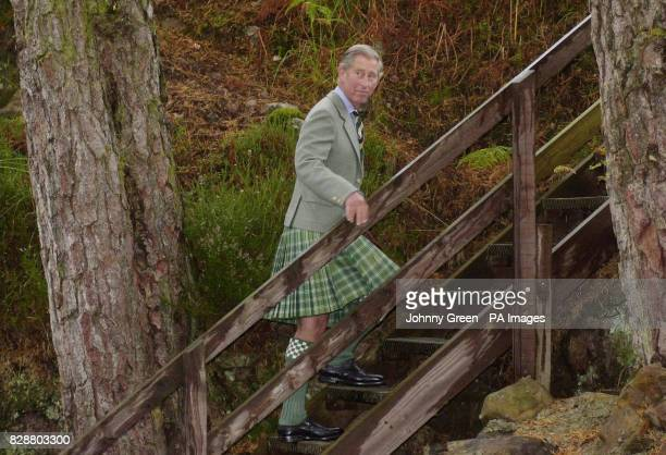 The Prince of Wales visits Shieldaig besides Loch Torridon in Scotland Prince Charles today delivered a certificate marking international recognition...