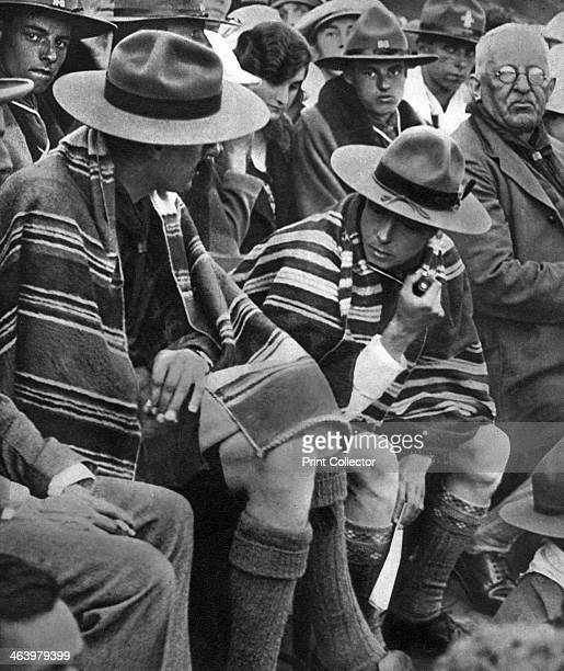 The Prince of Wales with the Welsh scouts 1926 The future King Edward VIII with boy scouts Illustration from George V and Edward VIII A Royal...