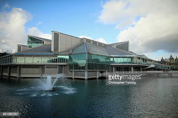 The Prince's Quay shopping centre is seen in Hull after it was announced as the 2017 UK City of Culture on November 21 2013 in Hull England Hull in...